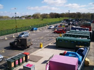 Photo taken at the Civic Amenity & Recycling Centre in Summers Lane.