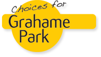 The logo for Choices For Grahame Park
