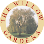 The logo for the Willow Gardens estate.